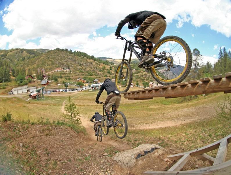 bascule vtt bike park roubion