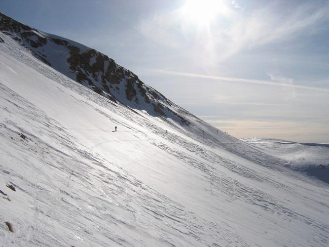 traversee col petite cayolle ski rando garrets