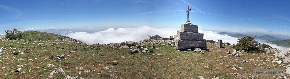 panorama au sommet du grand mont