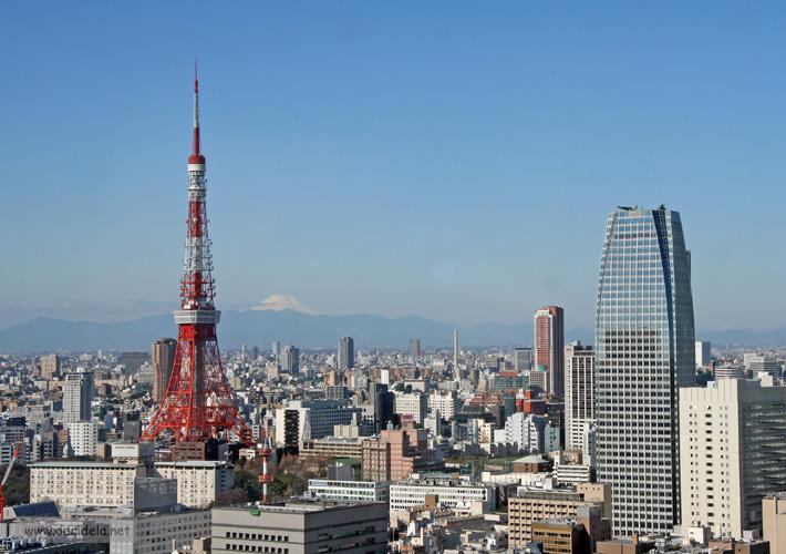 rokyo tower mont fuji