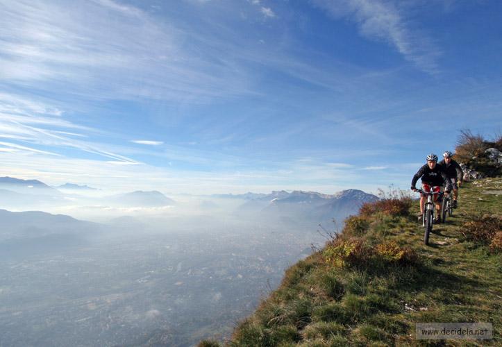 vue sur Grenoble depuis le St Eynard
