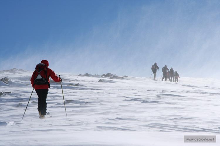 rando ski tete noire